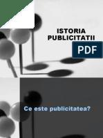 Comunicare Publicitara Istoria Publicitatii