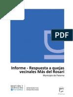 Informe Mas Del Rosari