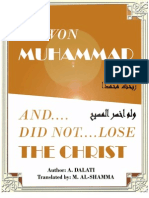 I Won Muhammad & Did Not Lose the Christ