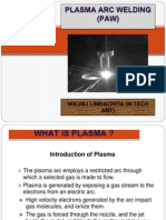 Plasma Arc Machining (PAM)