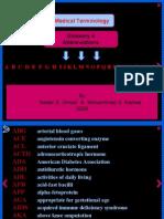 Glossary of Abbreviations