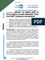 Nota Prensa Informe Gestión PPMadrid