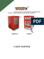 Centrale Pe Lemne Hoterm Woody Carte Tehnica