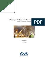 Cours Des Mecaniques Des Roches Et Travaux Sou Terrains