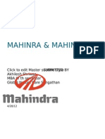 Customer Satisfaction With Mahindra