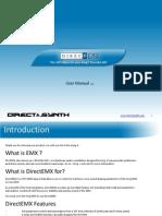 DirectEMX Manual En