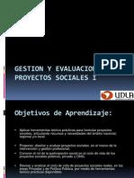 Presentacion Gestion y Evaluacion de Proyectos Sociales