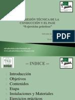 PROGRESIÓN TÉCNICA DE LA CONDUCCIÓN Y EL PASE