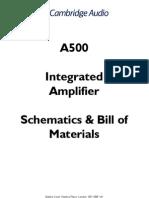 Cambridge Audio a Amplifier