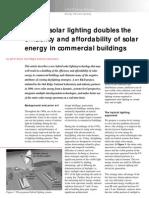 Hybrid Solar Efficiency in Commercial Buildings