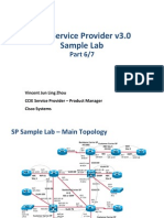 CCIE SP v3.0 Sample Lab Part - 6 of 7