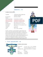 Design Input_Pressure Reducing Valve