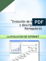 Evolucion de Internet y Caracterisiticas de algunos navegadores