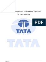 54411600 Role of Management Information System in Tata Motors