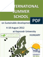 2nd CALL 2nd International Summer School2