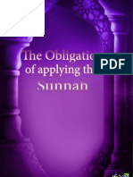 En the Obligation of Applying the Sunnah