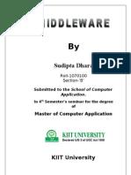 Middleware seminar report