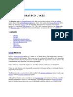 Brayton Cycle