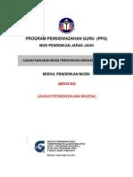 MZU3104 Asas Pendidikan Muzik