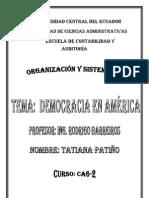 Resumen de La Democracia en America[1]