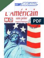 Assimil Anglais Americain Sans Peine Livre