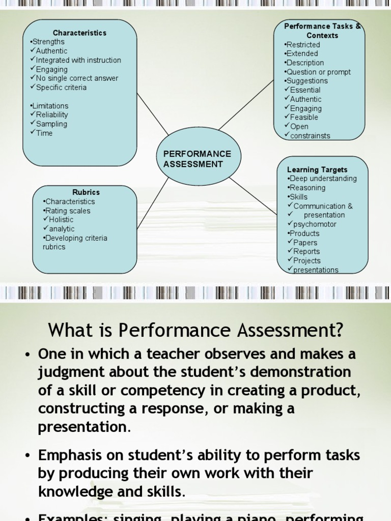Process Oriented Performance Based Assessment | Rubric (Academic ...