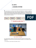 8-Channel Data Acquisition Ing and Logging System