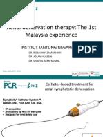 Renal Denervation Asia PCR 2012