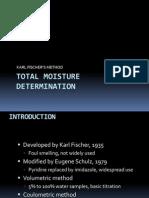 Total Moisture Determination