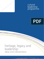 Heritage Legacy and Leadership