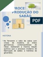 Processo de Produção do sabão