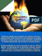 INCALZIREA GLOBALA,