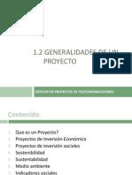 1.2 General Ida Des de Un Proyecto