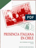 Prescencia Italiana en Chile