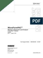 1109100C WaveFormPAC Manual