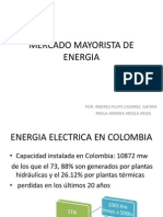Mercado Mayorista de Energia