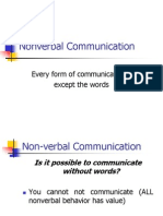 Nonverbal Communication - MBA I