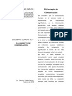 Doc. de apoyo No. 1 El Concepto De Comunicación