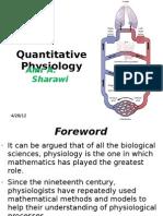 Quantitative Physiology Course - Module (1)