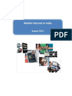 Mobile Internet India 2011