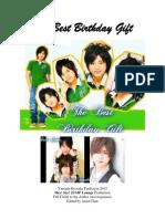 The Best Birthday Gift (Yamada Ryosuke Fan Fiction)