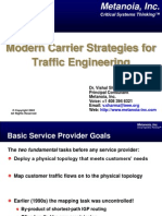 Modern Carrier Strategies for TE DrVishalSharma 2002-11-28