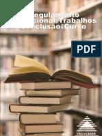 REGULAMENTO INSTITUCIONAL DOS TRABALHOS DE CONCLUSÃO DE CURSO - TCC[1] (1)