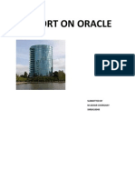 Report on Oracle