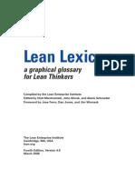 Lean Lexicon (Impr)