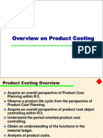 Product Costing Material Ledger1