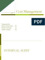 Cost Audit Final