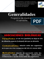 GENERALIDADES DE PARASITOLOGÍA