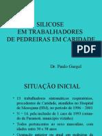 SILICOSE EM TRABALHADORES DE PEDREIRAS EM CARIDADE