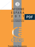 estructura de clases en España 2011